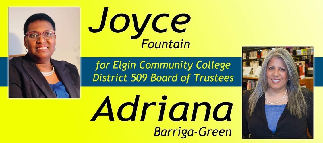Joyce Fountain and Adriana Barriga-Green